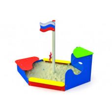 "МФ-1.11 - Песочница ""Парусник"""