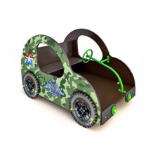 """МФ-1.4.2а Детская игровая форма """"Машинка Жук"""" с тематическим оформлением"""
