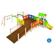 Детский игровой комплекс МГН-1.1