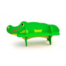 """СД-1.17 Детская скамейка """"Крокодил"""""""