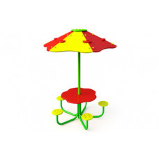 """МФ-1.39 - Детский столик """"Под грибом"""""""